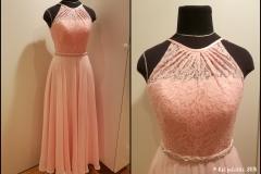 Tanssipuku, roosa
